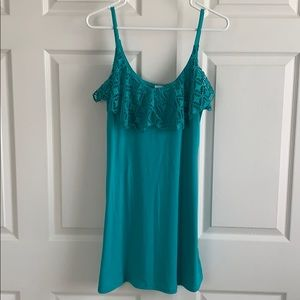 Teal Swim Cover- up
